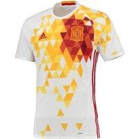 Spain Away Shirt 2016 White
