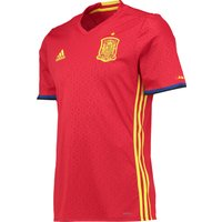 Spain Home Authentic Shirt 2016 Red