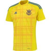 Ukraine Home Shirt 2016 Yellow