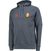 Belgium Hooded Sweat Top Dk Grey