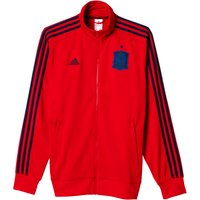 Spain 3 Stripe Track Top Red
