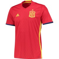 Spain Home Shirt 2016 Red