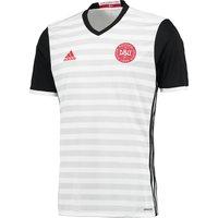Denmark Away Shirt 2016 White