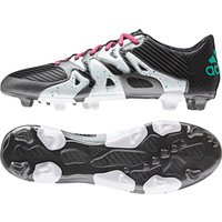 Adidas X 15.3 Firm Ground Football Boots Black