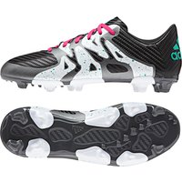 adidas X 15.3 Firm Ground Football Boots - Kids Black