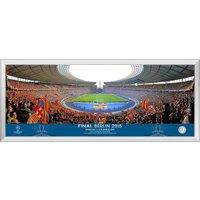 UEFA Champions League 2015 Final Match Panoramic Print - 30 x 12 Inch