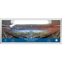 UEFA Champions League 2015 Final Line Up Panoramic Print - 30 x 12 Inch
