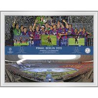 UEFA Champions League 2015 Final Panoramic Montage Print - 16 x 12 Inch