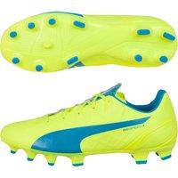 Puma Evospeed 4.4 Firm Ground Football Boots - Kids Yellow