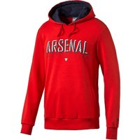 Arsenal Fan Hoodie Red