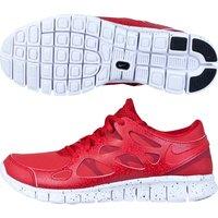 Nike Free Run 2 Premium Trainers Red
