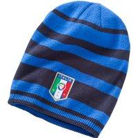 Italy Beanie Hat Blue