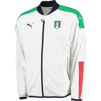 Italy Stadium Jacket White