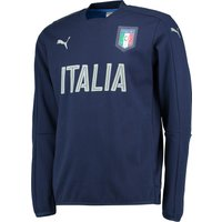 Italy Performance Crew Neck Sweater Navy