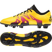 Adidas X 15.1 Firm Ground Football Boots - Gold