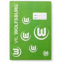 VfL Wolfsburg Exercise Books - Pack of 3