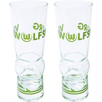 VfL Wolfsburg Football Glass - 2 Pack