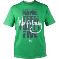VfL Wolfsburg Home Win T-Shirt - Green - Boys
