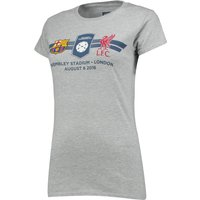 Barcelona v Liverpool FC ICC Match Up T-Shirt - Ladies - Grey
