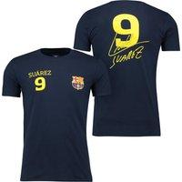 Barcelona 2016 Tour Player T-Shirt Suarez 9 - Mens - Navy