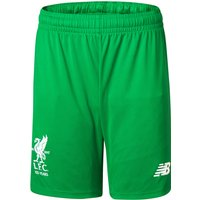 Liverpool Home Goalkeeper Shorts 2017-18 - Kids