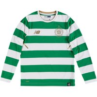 Celtic Home Shirt 2017-18 - Long Sleeve - Kids