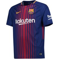 Barcelona Home Stadium Shirt 2017-18 - Kids with André Gomes 21 printing