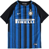 Inter Milan Home Stadium Shirt 2017-18 - Kids