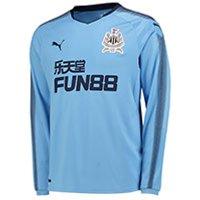 Newcastle United Away Shirt 2017-18 - Long Sleeve