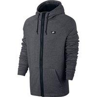 Nike Sportswear Modern FZ Hoodie - Carbon Heather/Black