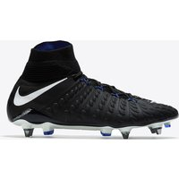 Nike Hypervenom Phantom III Dynamic Fit Soft Ground Pro Football Boots - Black/White/Game Royal