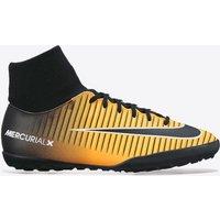 Nike Mercurial Victory VI Dynamic Fit Astroturf Trainers - Laser Orange/Black/White/Volt - Kids