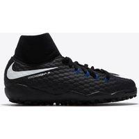 Nike Hypervenom Phelon III Dynamic Fit Astroturf Trainers - Black/White/Game Royal - Kids