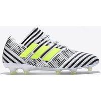 Adidas Nemeziz 17.1 Firm Ground Football Boots - White/solar Yellow/core Black