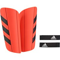 Adidas Ghost Euro Shinguards - Solar Red/black