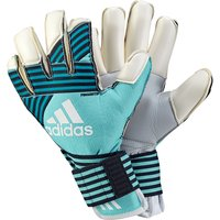 Adidas Ace Trans Finger Tip Goalkeeper Gloves - Energy Aqua/energy Blue/legend Ink/white