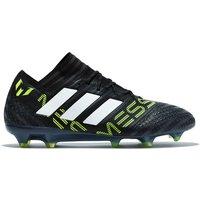 Adidas Nemeziz Messi 17.1 Firm Ground Football Boots - Core Black/white/solar Yellow