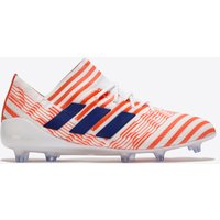 adidas Nemeziz 17.1 Firm Ground Football Boots - White/Mystery Ink/Easy Coral - Womens