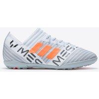 Adidas Nemeziz Messi Tango 17.3 Astroturf Trainers - White/solar Orange/clear Grey - Kids