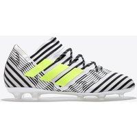 Adidas Nemeziz 17.2 Firm Ground Football Boots - White/solar Yellow/core Black