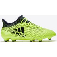 Adidas X 17.1 Firm Ground Football Boots - Solar Yellow/legend Ink/legend Ink