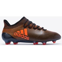Adidas X 17.1 Firm Ground Football Boots - Core Black/solar Red/solar Orange