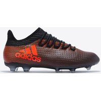 Adidas X 17.2 Firm Ground Football Boots - Core Black/solar Red/solar Orange