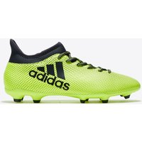 Adidas X 17.3 Firm Ground Football Boots - Solar Yellow/legend Ink/legend Ink