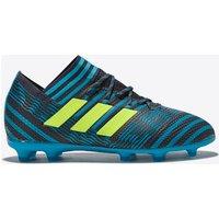 Adidas Nemeziz 17.1 Firm Ground Football Boots - Legend Ink/solar Yellow/energy Blue - Kids