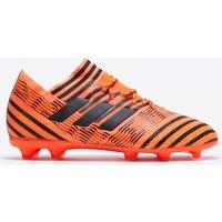 Adidas Nemeziz 17.1 Firm Ground Football Boots - Solar Orange/core Black/solar Red - Kids