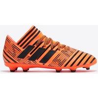 adidas Nemeziz 17.3 Firm Ground Football Boots - Solar Orange/Core Black/Solar Red - Kids