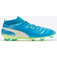 Puma One 17.1 Firm Ground Football Boots - Atomic Blue/White/Safety Yellow