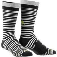 Adidas Tango Training Socks - White/black/solar Yellow