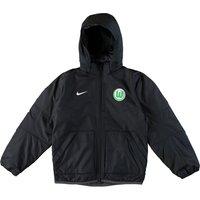 VfL Wolfsburg Training Fall Jacket - Black - Kids